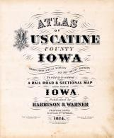 Title Page, Muscatine County 1874